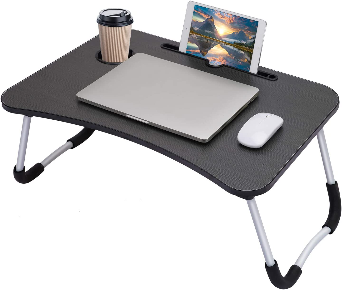 Hossejoy Foldable Laptop Table Breakfast Tray Bed Serving famous Don't miss the campaign Lap