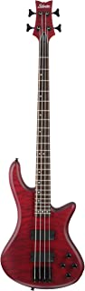 $669 » Schecter Stiletto Custom-4 Electric Bass Guitar (4 String, Vampyer Red Satin)