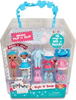 Lalaloopsy Minis Style 'N' Swap Doll- Mittens Fluff 'N' Stuff