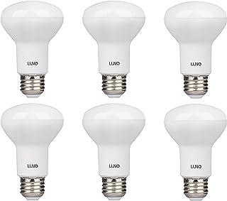 LUNO R20 Dimmable LED Bulb, 6.5W (45W Equivalent), 455 Lumens, 2700K (Soft White), Medium Base (E26), UL & Energy Star (6-Pack)