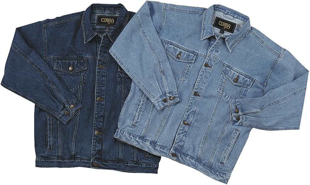 Classic Vintage Denim Trucker Jacket/Sorority Jacket