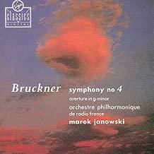 Bruckner: Symphony No. 4 / Overture in G minor
