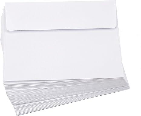 "5.25/""X7.25/"" White Darice 110366 Heavyweight A7 Cards W//Envelopes 50//Pkg"