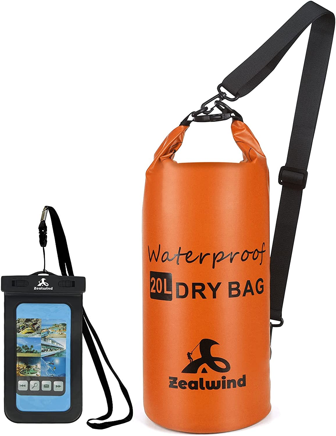 Zealwind Waterproof Dry Bag Backpack- Pho Sack Outlet ☆ Free unisex Shipping Floating with