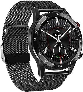 smartwatch inteligentny zegarek Bluetooth połączenie sportowa bransoletka tętno ciśnienie krwi tlen monitorowanie EKG czar...