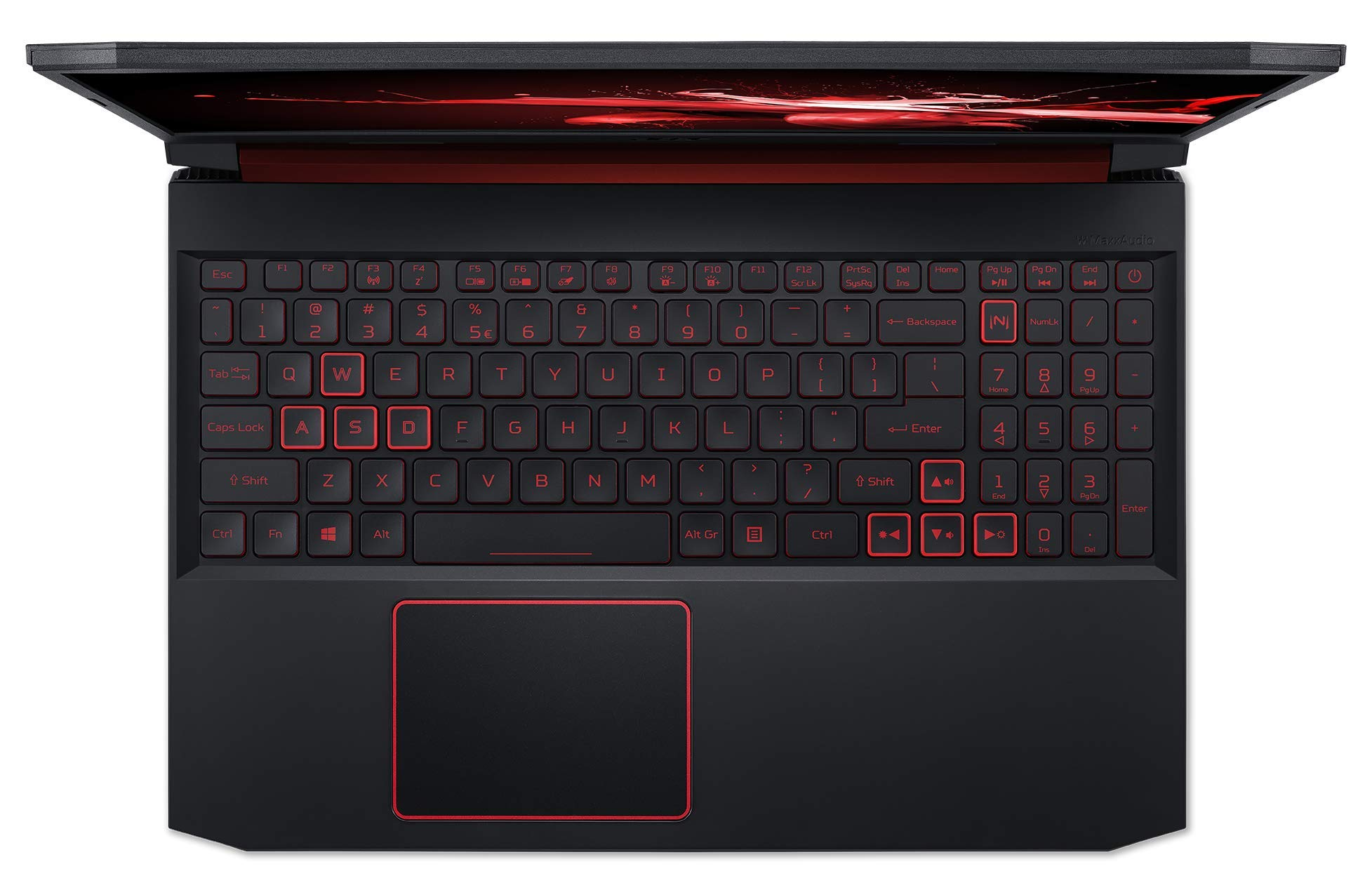 """Acer Nitro 5 AN515 Gaming Notebook 10th Gen Intel Core i5-10300H Quad Core Upto 4.50GHz/8GB DDR4 RAM/1TB SSD Storage/4GB NVIDIAGeForce GTX 1650/15.6"""" FHD -Win 10 Home-Black + Headset+ Mouse & Pad"""