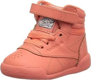 Reebok Unisex-Kids Freestyle Hi Sneaker, Cardinal-Dreamy Blue/Digital Blue