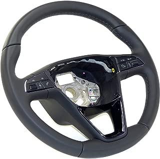 Modello in carbonio cornice del rivestimento decorativo del volante interno auto per B-M-W F20 F22 F30 F32 F10 F06 F15 F16 Broco 2pcs rivestimento del volante