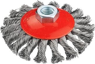 colore: rosso Connex COM219025 nylon 25 mm Spazzola a disco
