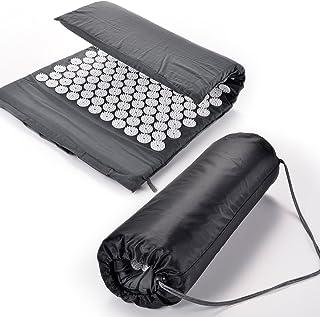 SurePromise One Stop Solution for Sourcing nagelmatta akupressurmatta akupunkturmatta grå med bärväska massage akupunktur