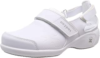 Oxypas Move Up Salma Slip-resistant, Antistatic Nursing Shoes, White, 4 UK (37 EU)