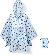 Reisenthel Mini Maxi Poncho - Abrigos y Chaquetas (Azul, Femenino, Abrigo, Chubasquero, Adulto, Casual)