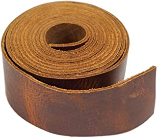 SLC's Leather Oil Tanned Purse/Bag Making Straps (1-1/4