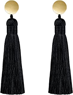 Bohemian Earrings Long Fringe Thread Tassel Dangle Drop Earrings for Women Tassel Earrings For Party Prom