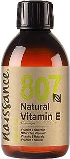 روغن ویتامین E Naissance 8.5 fl oz / 250ml - خالص ، طبیعی ، وگان ، بدون ظلم ، بدون هگزان ، بدون GMO