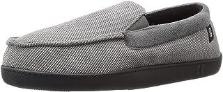 حذاء ISOTONER رجالي من القطن المضلع المصنوع من إسفنج ميموري غني بالهلام