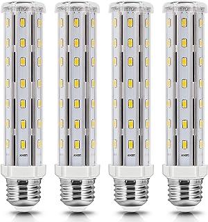 E27 LED Lampe, 15W E27 LED Maiskolben Warmweiss 3000K, Energiesparlampe E27 Mais Birnen Ersatz 120W Halogen Glühbirne, E27...