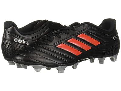 adidas Copa 19.4 FG (Core Black/Hi-Res Red/Silver Metallic) Men