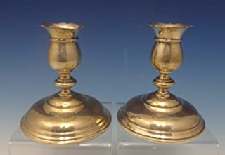grand sterling silver candlesticks