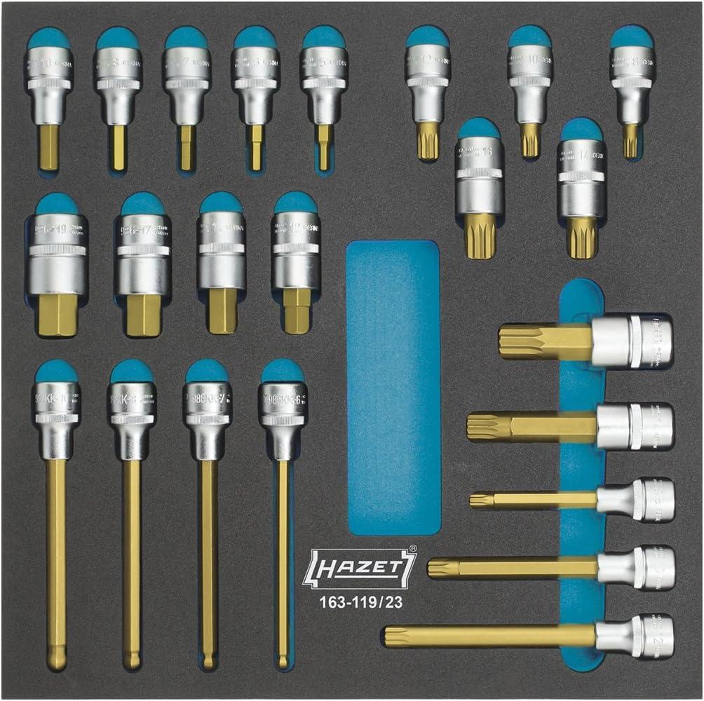 Hazet 163-119/23 Screwdriver socket set