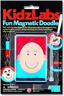 4M 3317 Kidz Labs Fun Magnetic Doodle Playset