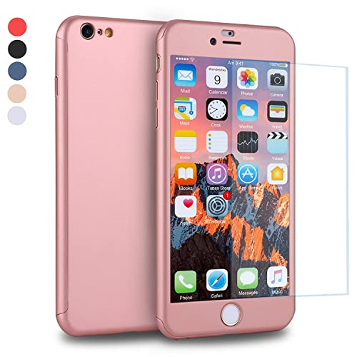 sale retailer d5442 7fdc2 iPhone 6s Plus Case with Screen Protector: Amazon.co.uk