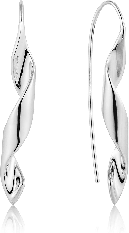 925 Sterling Silver Phoenix Mall Trendy Long Dangle Dressy Drop Helix Tampa Mall Glam Ho