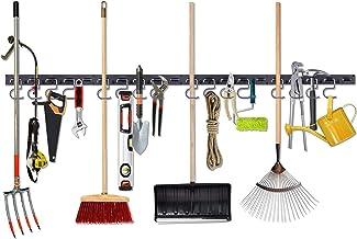 Sistema de armazenamento ajustável NZACE, suporte de parede para ferramentas, organizador de ferramentas de montagem na pa...