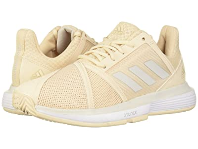 adidas CourtJam Bounce (Linen/Grey One F17/Footwear White) Women