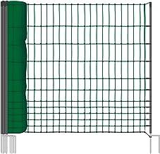 Pieloba Filet de cl/ôture Noir/ //épaisseur: 1,2/mm/ /Mailles 8/cm/ /Dimensions: 1,20/m x 20/m