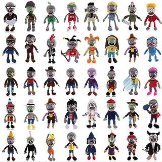 JMUNG 40 stks/set Planten vs Zombies Pluche Speelgoed Gevulde Baby Game Pop voor Kinderen Verjaardagscadeaus voor kinderen...