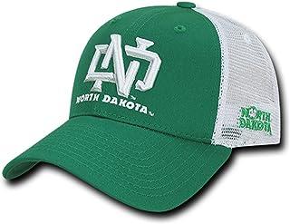 803e9d58 BHFC University of North Dakota UND Fighting Sioux NCAA Structured Trucker  Mesh Snapback Baseball Cap Hat
