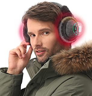 Sponsored Ad - Aroma Season Heated Ear Warmer for Men & Women, 2 Heating Modes Electric Ear Muffs for Winter Sports, Travel