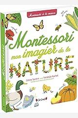 Mon imagier de la nature montessori Hardcover
