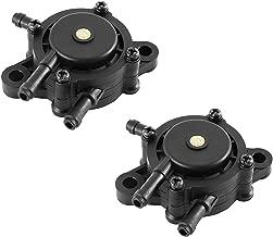 Ketofa 16700-Z0J-003 Fuel Pump for Briggs & Stratton/Kohler / Kawasaki 491922 808656 16700-Z0J-003 LG808656 M138498 M145667 49040-7001 GX610 GX620 Fuel Pump Assembly (2 Pack)