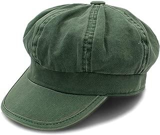 SXQ Autumn Winter Women's Fashion Vintage Trendy Derby Bowler Top Fedora Hat Ladies Hats Cap for Women Bucket (Color : Green, Size : 56-58CM)