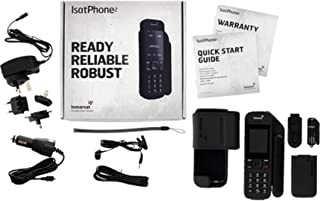 Inmarsat IsatPhone 2 Handheld Satellite Phone w/ Prepaid Sim (100 Units / 77 Minutes)