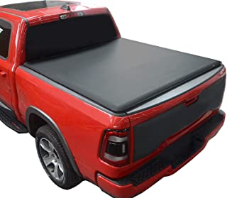 KSCPRO Truck Bed Tonneau Covers Soft Roll Up fits 2014-2018 Chevy Silverado/GMC Sierra 1500 | 2019 Legacy/Limited Only ; 2...