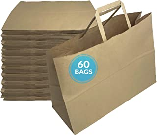 Sponsored Ad - Reli. Paper Shopping Bags | 60 Pcs | Large 16