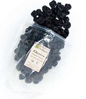 Bella Viva Orchards Organic Dried Cherries, Sweet no Sugar Added 1 lb of Dried Fruit