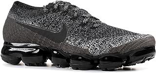 Nike Women's Air Vapormax Flyknit Running Shoe Black/Black-White-Racer Blue 9.5