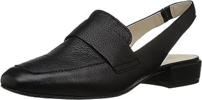 Kenneth Cole Reaction Bavi Wide Width Menswear Inspired Slingback Loafer, Mocassino Basso Donna