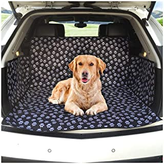 Dog Car trunk mat/Boot Liner/Car Liner Protector/Waterproof/Washable/Non Slip/Fits all Cars Trucks SUV (Cute Dog Claw) Dog...