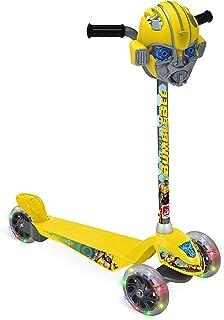 Patinete Skatenet Transformers Bandeirante Amarelo