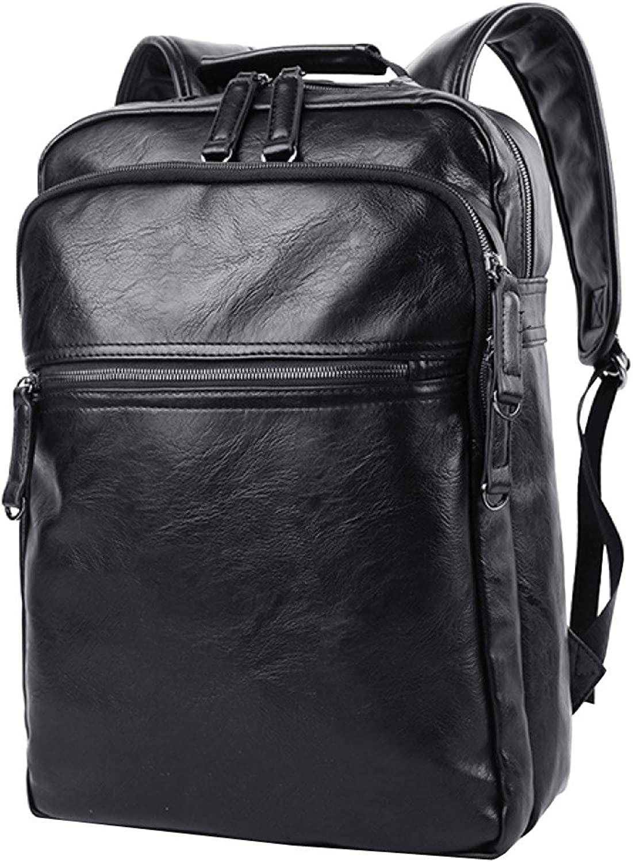 LAIDAYE Shoulder Bag Retro Men's Leather Bag Computer Bag Backpack Travel Bag Men's Shoulder Bag