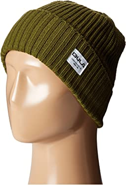 956d134eb26 Lacoste green croc ribbed wool knit beanie