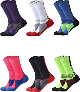 featured product Boys Sock Basketball Soccer Hiking Ski Athletic Outdoor Sports Thick Calf High Crew Socks 6 Pack