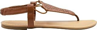 صنادل نسائية من Chatties سهلة الارتداء مع حزام خلفي مرن، أحذية صيفية أنيقة مفتوحة عند الأصابع