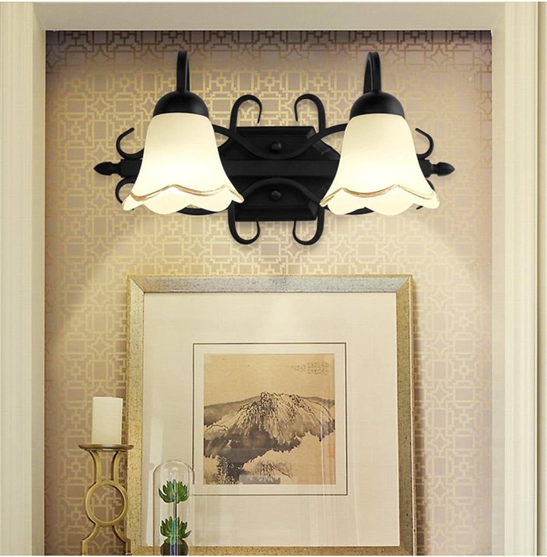 StiefelU LED Wandleuchte nach oben und unten Wandleuchten Balkon Bad Spiegel Vordere lampe led Wandleuchte Schlafzimmer wc Gangway Treppen antikes Glas Lampen Kopf
