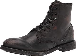 حذاء Frye Mens Bowery بأربطة أكسفورد، أسود، 13 US